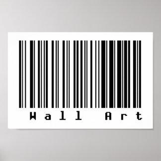 Barcode Art - Wall Art