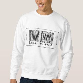 Barcode Banjo Player Sweatshirt