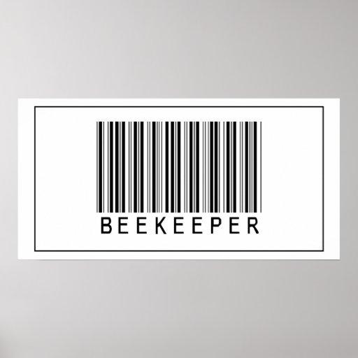 Barcode Beekeeper Posters