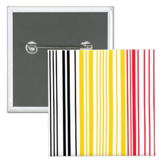 Barcode Belguim Flag 2 Inch Square Button