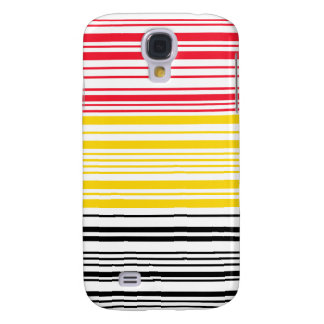 Barcode Belguim Flag Galaxy S4 Covers