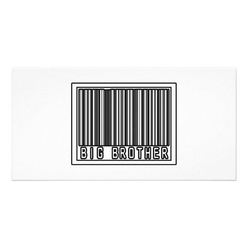 Barcode Big Brother Custom Photo Card