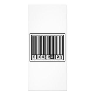 Barcode Biochemist Custom Rack Cards