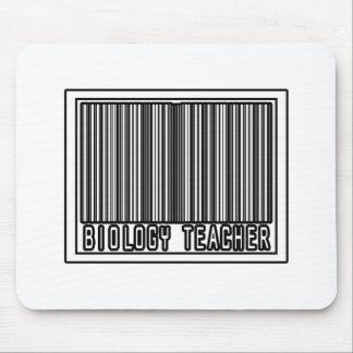 Barcode Biology Teacher Mouse Pad