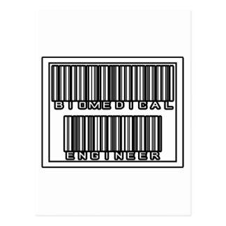 Barcode Biomedical Engineer Postcard