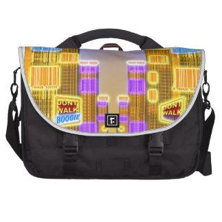 Barcode Boogie -Woogie Laptop Shoulder Bag