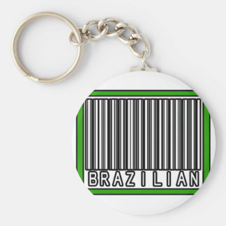 Barcode Brazilian Key Chain