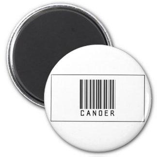 Barcode Canoer 2 Inch Round Magnet