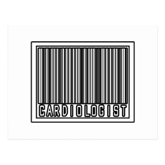 Barcode Cardiologist Postcard