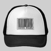 Barcode Cheer Coach Trucker Hats
