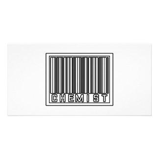 Barcode Chemist Photo Card