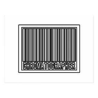 Barcode Chromatographer Post Cards