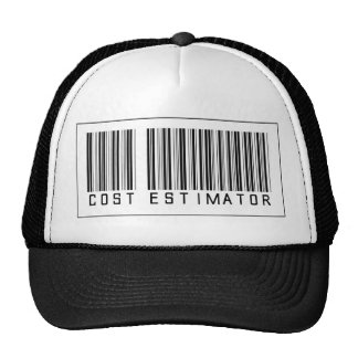 Barcode Cost Estimator Trucker Hats