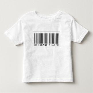 Barcode Cribbage Player Toddler T-shirt