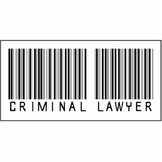 Barcode Criminal Lawyer Cut Outs