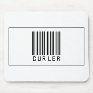 Barcode Curler Mouse Pads
