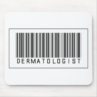 Barcode Dermatologist Mouse Pad