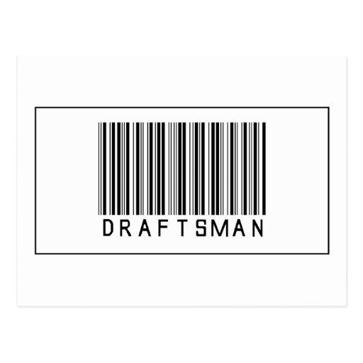 Barcode Draftsman Post Cards