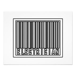 Barcode Electrician Invites