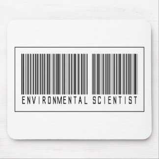 Barcode Environmental Scientist Mouse Pad