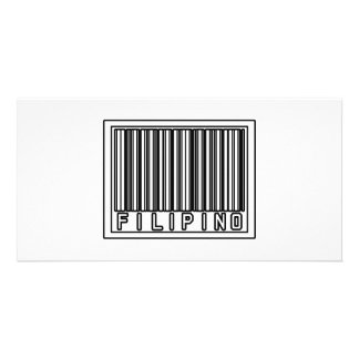 Barcode Filipino Photo Card Template