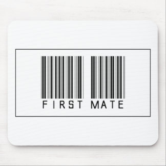 Barcode First Mate Mouse Pad