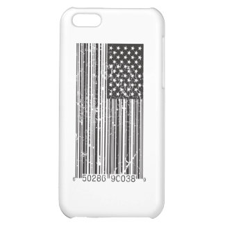 Barcode Flag Cover For iPhone 5C