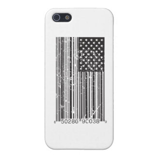 Barcode Flag iPhone 5 Case