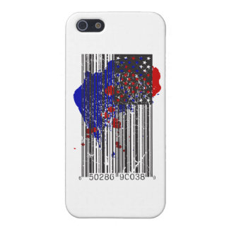 Barcode Flag iPhone 5 Cover