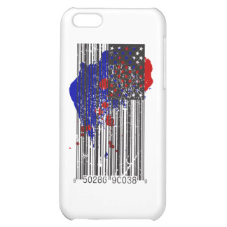 Barcode Flag Case For iPhone 5C
