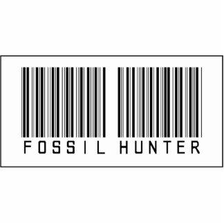 Barcode Fossil Hunter Photo Sculpture Ornament
