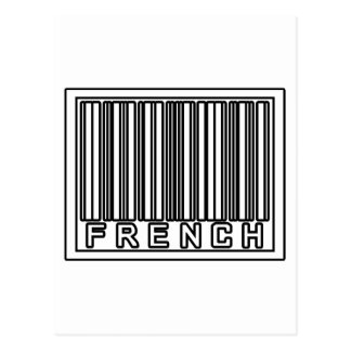 Barcode French Postcard