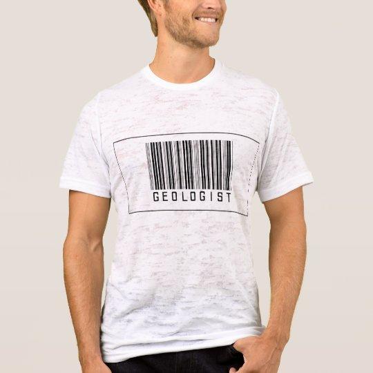 Barcode Geologist T-Shirt