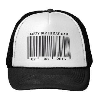 Barcode Happy Birthday hat