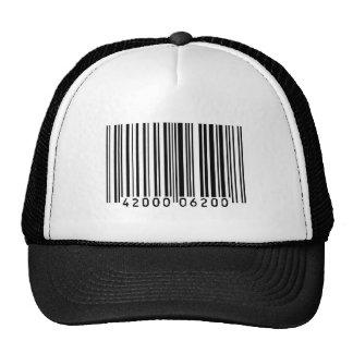 barcode mesh hat