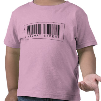 Barcode Hazmat Expert Shirts