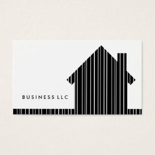 Barcode business cards templates zazzle barcode home business card colourmoves Gallery