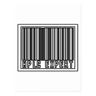 Barcode HPLC Expert Post Cards