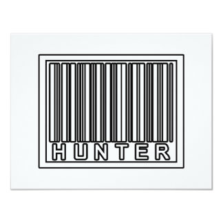 Barcode Hunter Personalized Announcement