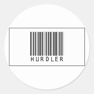 Barcode Hurdler Sticker
