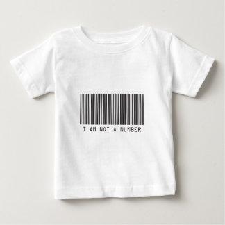 Barcode - I Am Not  A Number Tee Shirt