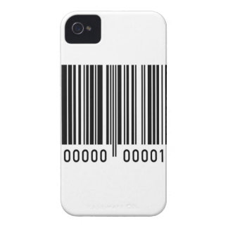 Barcode Identification iPhone 4 Case