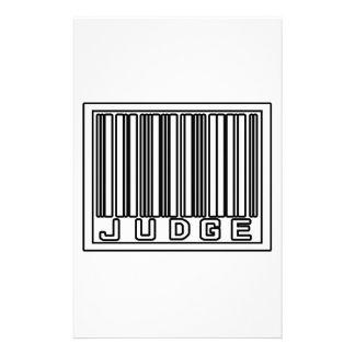 Barcode Judge Stationery