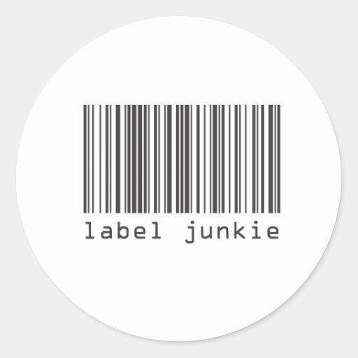 Barcode - Label Junkie Sticker
