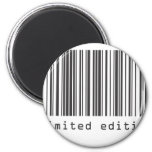 Barcode - Limited Edition 2 Inch Round Magnet