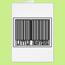 Barcode Little Brother Card