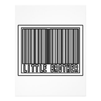 Barcode Little Brother Personalized Flyer