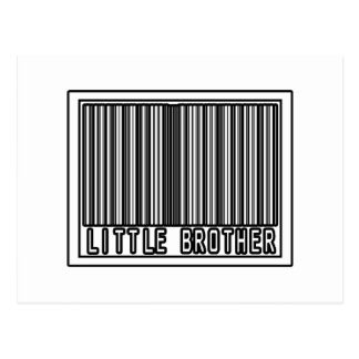 Barcode Little Brother Post Card