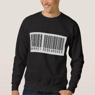 Barcode Market Researcher Sweatshirt