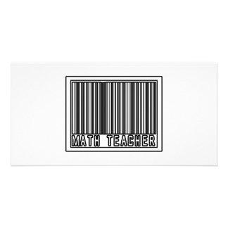 Barcode Math Teacher Card